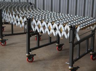 Gravity Skatewheel Flexible Roller Conveyor